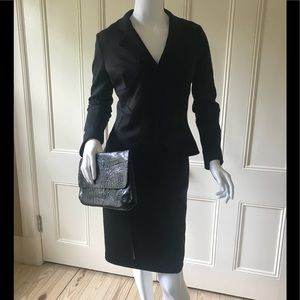 Robert Rodriquez Black Dress with Jacket size 2-4